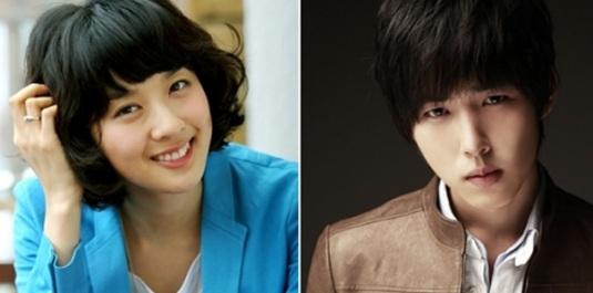 Lee Chung Ah & Baek Seung Hyun.