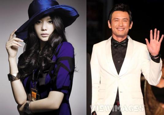 Kim Ah Joong & Hwang Jung Min.