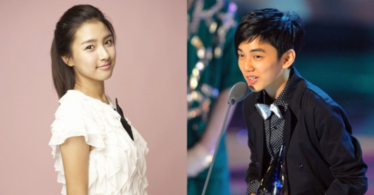 Kim So Eun and Yoo Seung Ho