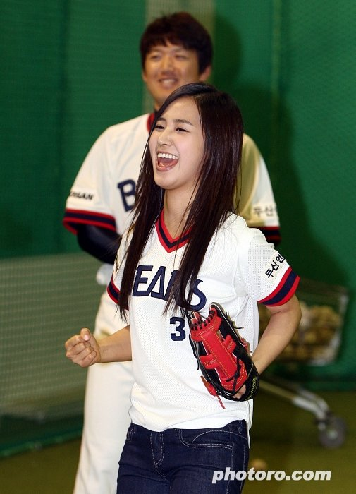 Yuri Training to Pitch