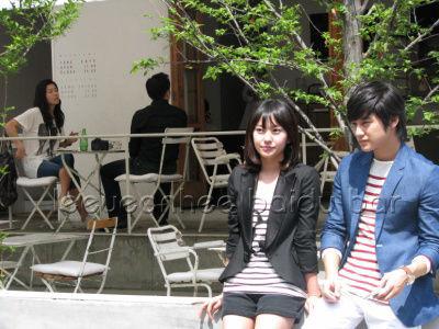 Kim Bum and Kim Min Ji