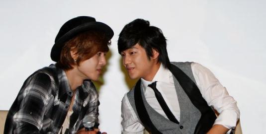 Kim Bum & Kim Hyun Joong