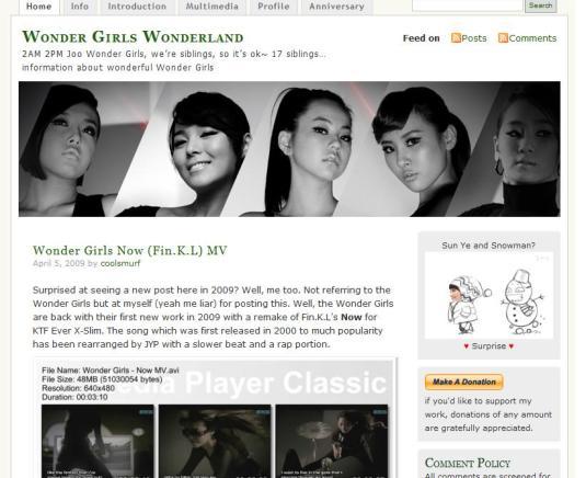 WonderGirlsWonderland
