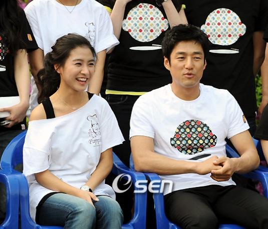Kim So Eun and Ji Jin Hee