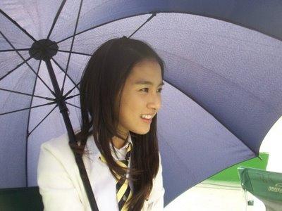 Kim So Eun in Third Period Murder Mystery Filming.