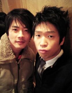 With Kwon Sang Woo