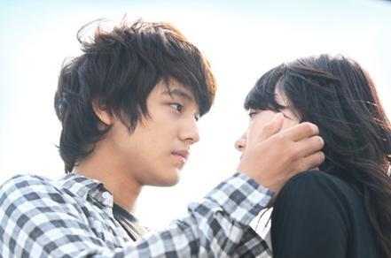 Kim Bum & Kim Byul's Kissing Scene.