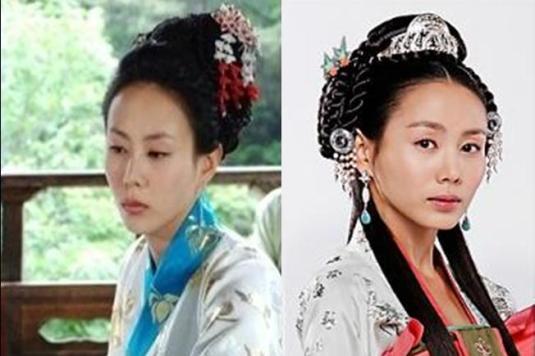 Park Ye Jin in Queen Seon Duk.