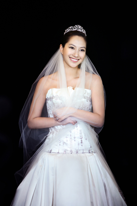 ShinAe in Wedding Dress