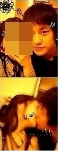 Kim Bum and his  'Girlfriend'