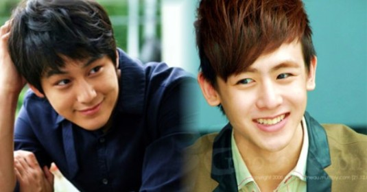 Kim Bum and Nick Khun