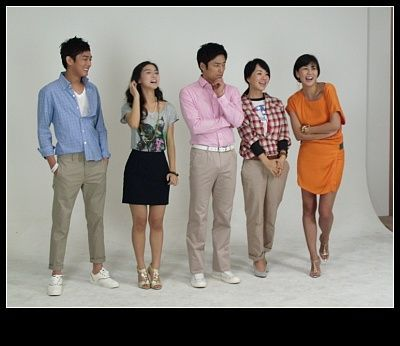 Casts of The Man Who Can't Get Married.