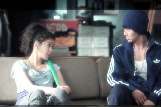 Lee Si Young & Jun Jin in Hey Ya!