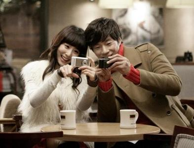 YeJin and ChunHee in a CF