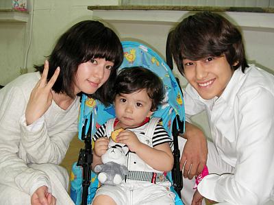 Kim Byul, baby & Bummie