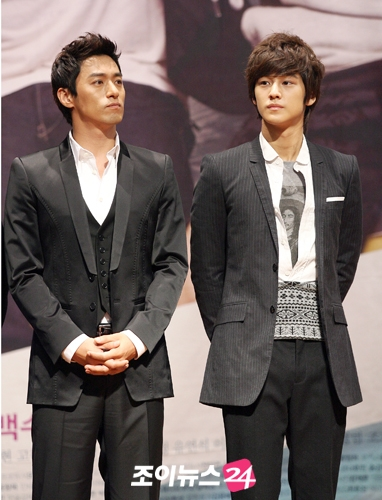Kim Bum & Joo Jin Mo in Dream Press Conference