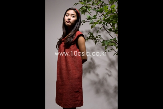 Kim So Eun in 10Asia.