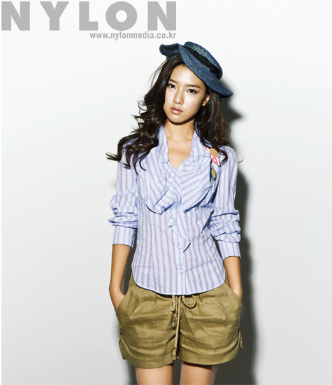 Kim So Eun in Nylon Korea