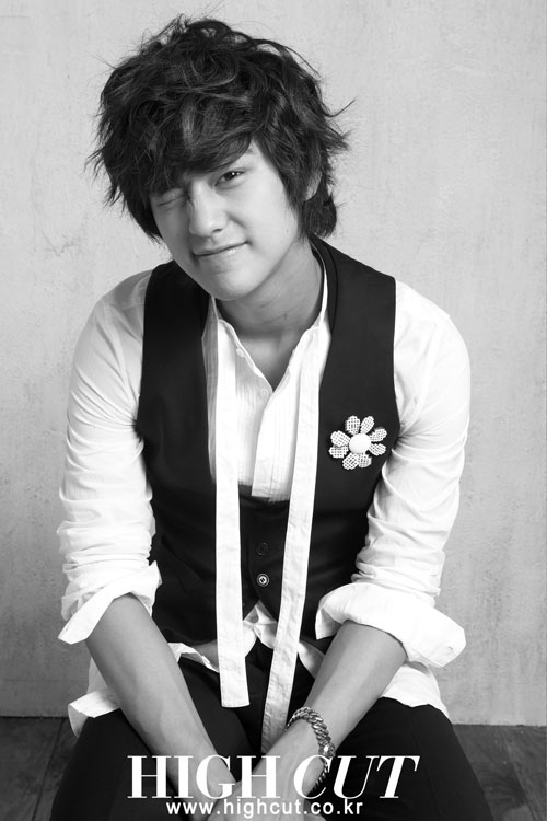 Kim Bum in High Cut