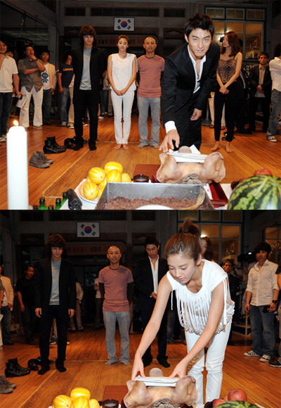 Joo Jin Mo & Son Dam Bi