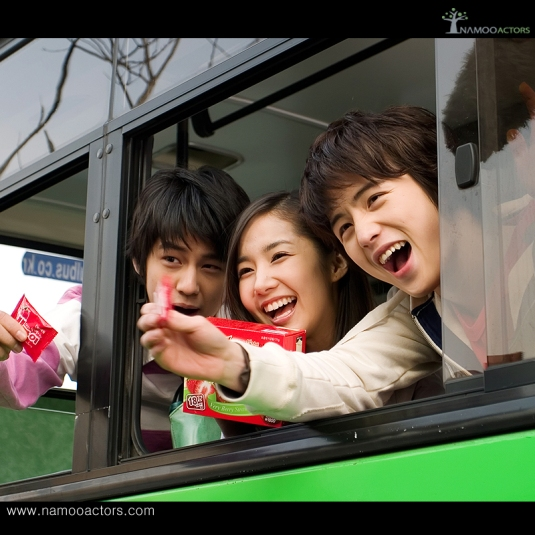 Kim Bum, Park Min Young and Kim Hye Sung
