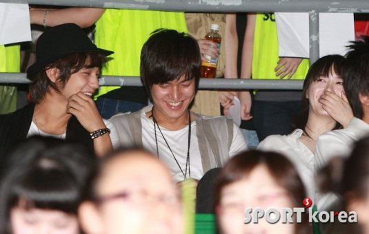 Kim Bum, Lee Min Ho and Goo Hye Sun