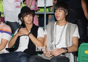 Kim Bum and Lee Min Ho