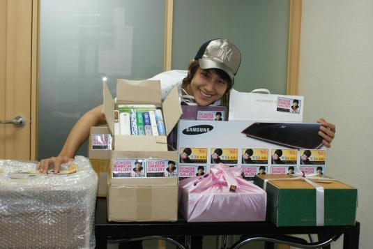 Fans Gifts to Kim Bum