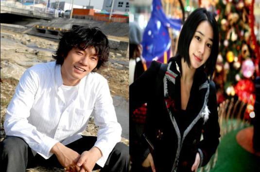 Lee Chun Hee and Lee Min Jung