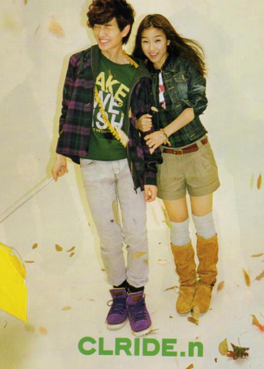 Onew and So Eun