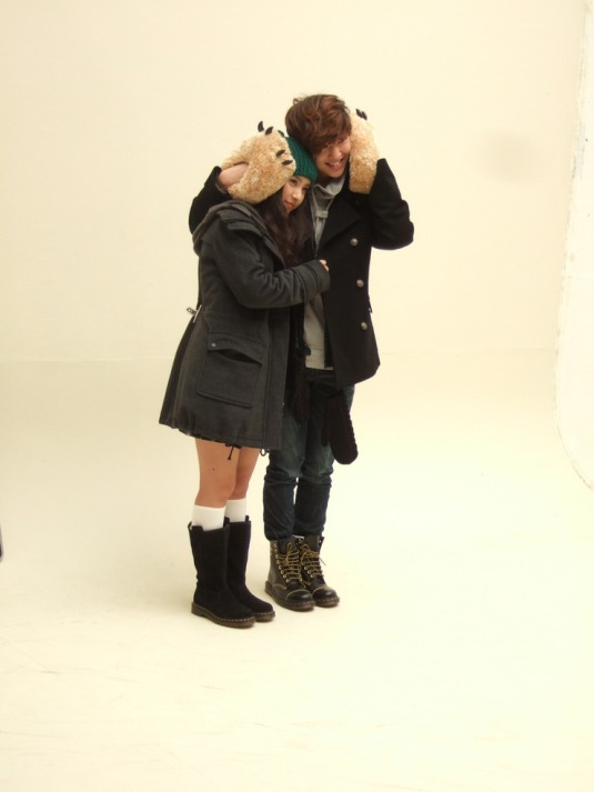 Kim So Eun and Shinee in Clride.n