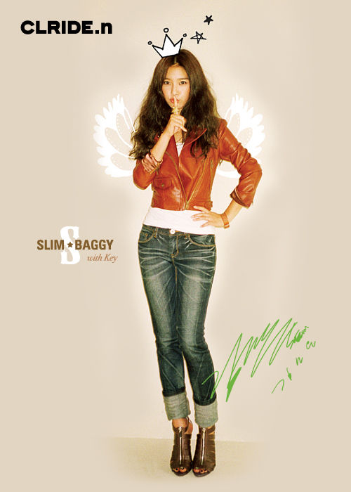 Kim So Eun in CLRIDE.n
