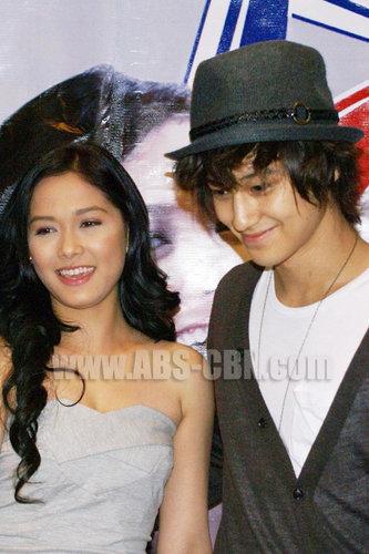 Kim Bum and Maya