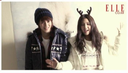 Kim So Eun and Tae Min of SHINee