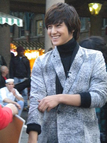 Kim Bum in England.