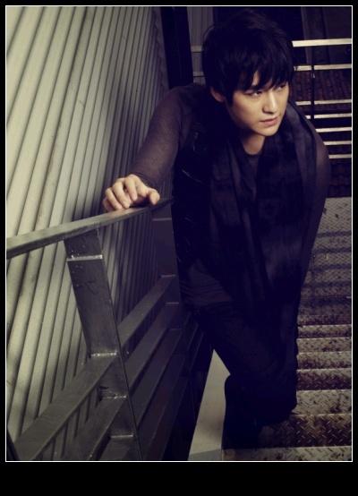 Kim Bum in Black