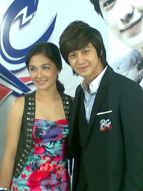 Kim Bum and Maja