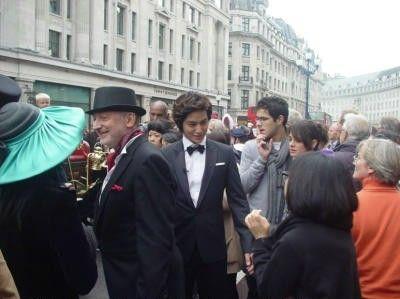 Kim Bum in London