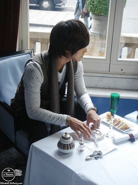 Kim Bum in London.